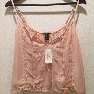 Forever 21 pink tank